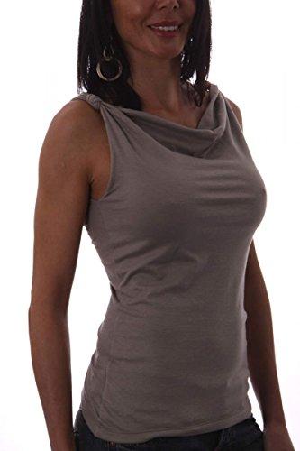 Shield & Couture - Camiseta sin mangas - para mujer Arena