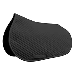 Intrepid International Heavy Duty Shaped Cotton Pad, Black