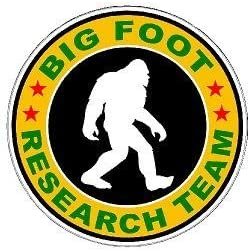 Michigan Bigfoot Research Team Vinyl DecalMultiple Sizes and Colors
