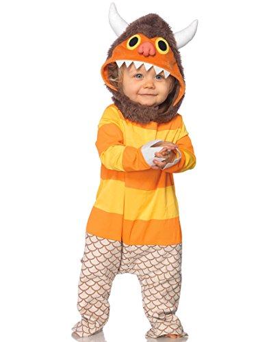 Baby Carol Baby Infant Costume - Baby (Baby Wild Thing Costume)