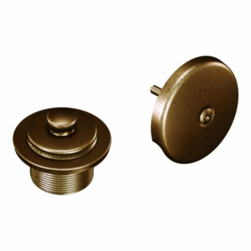 Moen T90331AZ Tub and Shower Drain Cover, Antique - Antique Tub Bronze