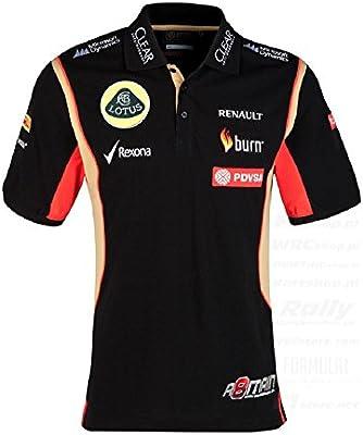 Polo para hombre, Formula One 1 Lotus F1 ® Equipo pdvsa Grosjean, 2014/5/5, Hombre, negro: Amazon.es: Deportes y aire libre