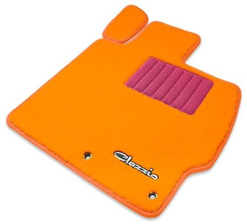 クラッツィオ ( Clazzio )【 フロアマット 】トヨタ ランドクルーザー GRJ76K 5人乗り 復刻版【1列目+2列目セット】(オレンジ×ピンク×オレンジ) ET-1005-Y901-OPO B00RFOEZS2 オレンジ オレンジ