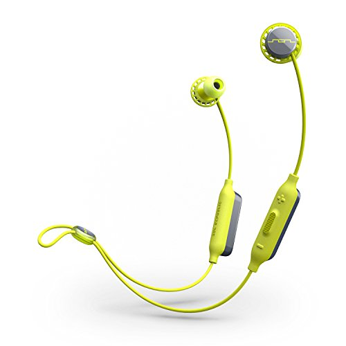 SOL REPUBLIC, SOL-EP1170 Relays Sport Wireless Bluetooth Headphones  - Long Battery Life, Noise isolation and Premium Sound, Lime