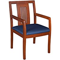 Regency Preston Guest Chair, Cherry/Blue