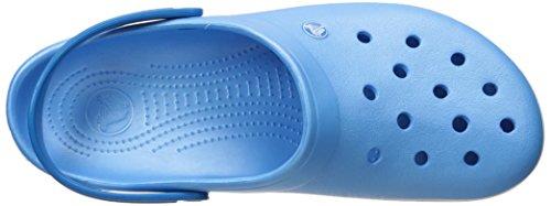 Crocs Crocband Clog Zuecos con Correa, Unisex Adulto Azul (Bluebell/White)