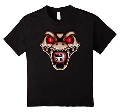 Kids WWE Stone Cold Steve Austin 3:16 Viper T-Shirt 8 (Girls Austin Clothing)