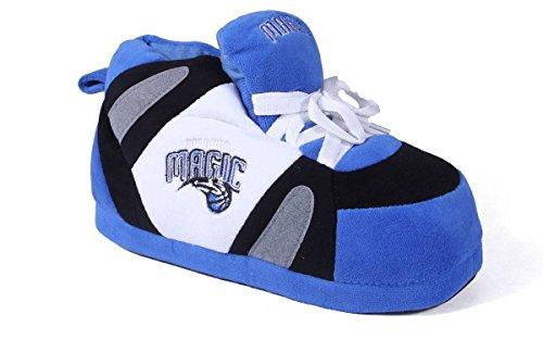 - OMA01-2 - Orlando Magic - Medium - Happy Feet Mens and Womens NBA Slippers