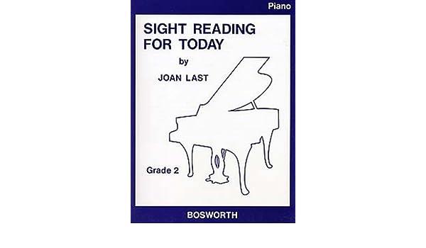 Sight Reading for Today: Piano Grade 2: 9781844497393: Amazon.com ...