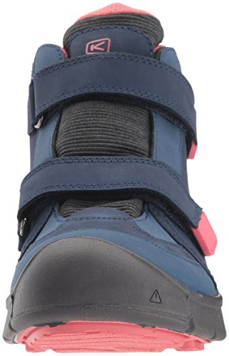 Keen Hikeport Mid Strap WP Kinderwanderschuhe Dress blue