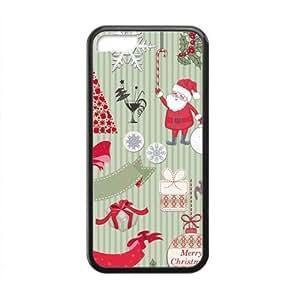 Merry Christmas fashion practical Phone Case for iPhone 5C(TPU) wangjiang maoyi