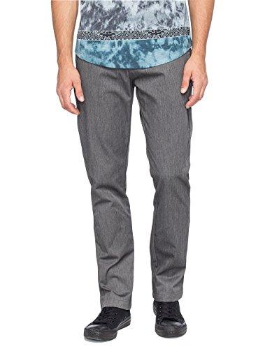 Volcom Men's Frickin Modern Chino Pant, Charcoal Heather, 29