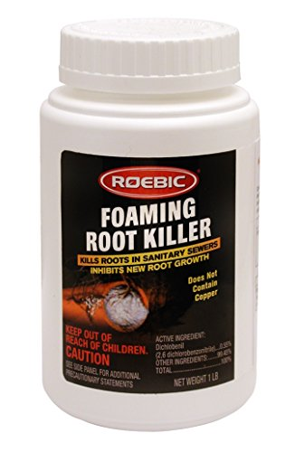 Roebic Laboratories FRK-1LB Roebic FRK Foaming Root Killer, 1-Pound, 1 lb, White by Roebic Laboratories