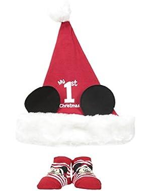 Disney Baby-Boys Newborn Mickey My 1St Christmas Set
