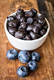Dried Blueberries (Carob-coated), 2.2 pounds