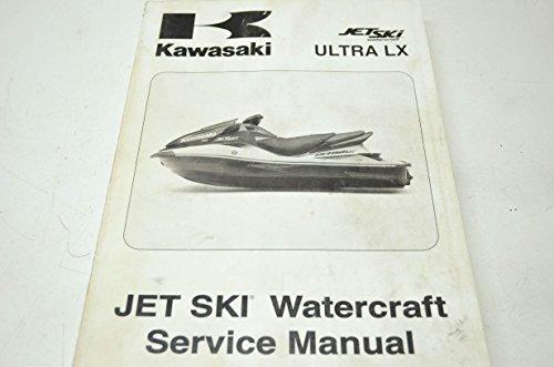 Kawasaki 99924-1376-01 Jet Ski Ultra LX Service Manual QTY 1