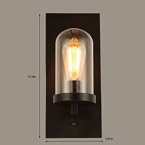 Jinguo lighting large starburst gold finish indoor wall sconce lamp home industrial decor aloadofball Choice Image
