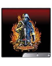 DeinDesign Skin kompatibel mit Sony Playstation 3 PS3 Slim CECH-2000-3000 Aufkleber Folie Sticker Firefighter Feuer Beruf