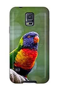 david jalil castro's Shop Forever Collectibles Rainbow Lorikeet Hard Snap-on Galaxy S5 Case
