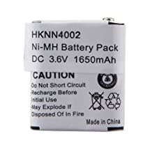 3.6v 1650mAh NiMh High Capacity Two-way Radio Battery for Motorola 56315 HKNN4002 HKNN4002A HKNN4002B KEBT-071-A KEBT-071-B KEBT-071-C KEBT-071D