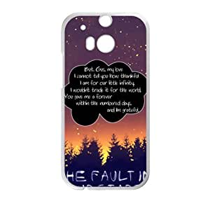 The faulting our stars artistic Cell Phone Case for HTC One M8