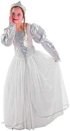 EL CARNAVAL Disfraz Princesa Blanca Talla de 8 a 10 años: Amazon ...