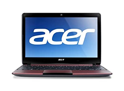 Acer Aspire AO722-0472 11.6-Inch Netbook (Red) by Acer