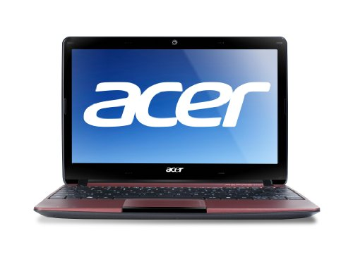 Acer Aspire AO722-0472 11.6-Inch Netbook (Red)