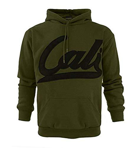 Hokivin Mens Fall Winter Warm Havryweight Long Sleeve Pullovers Hoodies Sweatshirts for Unisex (X-Large, Green)