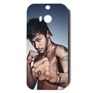 Neymar Sexy Practice Boxing Unqiue Plastic Phone Case for Htc One M8
