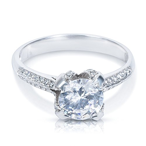 Tacori Engagement Ring Setting in Platinum 2536 RD 6.5 (Diamonds 1/10 CTW) (Tacori Platinum Engagement Rings compare prices)