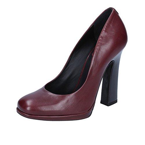 Pelle Donna Ak784 Eu Shoes 36 Bordeaux In Fabi Tribunali EwYqUU7