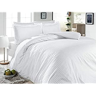 500-Thread-Count-100-Cotton-Stripe-Best-Hotel-Luxury-Bedding-3-Piece-Duvet-Cover-Set-Zipper-Closure-FullQueen-90×92-3-Piece-1-Duvet-Cover-2-Pillow-Shams-Soft-Silky-Sateen-Weave