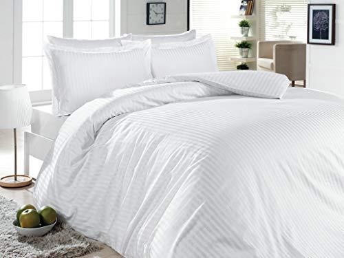 500-Thread-Count-100-Cotton-Stripe-Best-Hotel-Luxury-Bedding-3-Piece-Duvet-Cover-Set-Zipper-Closure-FullQueen-90×92-3-Piece-1-Duvet-Cover-2-Pillow-Shams-Soft-Silky-Sateen-Weave
