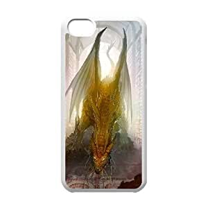 Ancient Dragon iPhone 5c Cell Phone Case White 6KARIN-318401