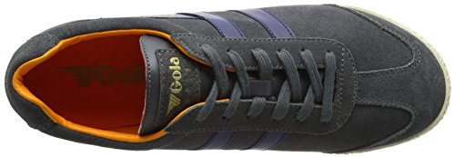 Graphite Fashion Harrier Navy Sneaker Men's Orange Gola Hw8qEIzx