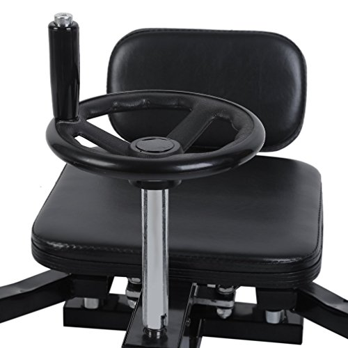 Homgrace Pro Leg Stretch Machine, Heavy Duty Steel Frame Leg Stretcher Training Leg Splitter Gym Gear Fitness Equipment by Homgrace (Image #7)