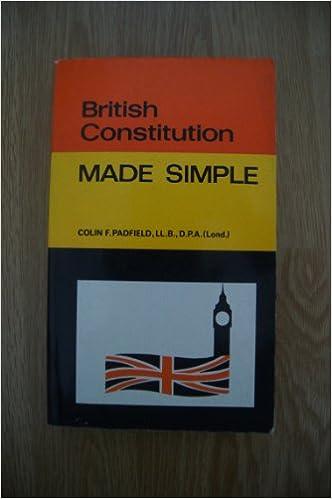 Download ebook italiano British Constitution Made Simple DJVU