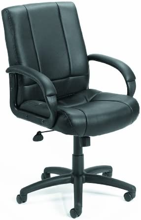 Boss Office Products Caressoft Executive Mid Back Chair