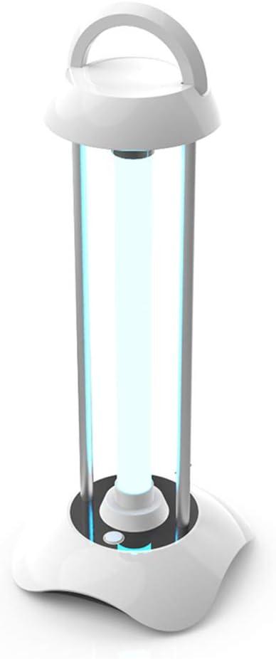 RXBD Lámpara de desinfección UV portátil Luz de esterilización de ozono Lámpara 99% germicidial Ultravioleta Eliminar el formaldehído los ácaros Control Remoto ...