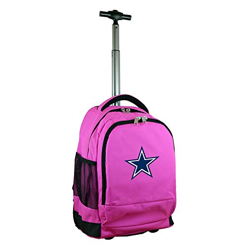 NFL Dallas Cowboys Expedition Wheeled Backpack, 19-inches, Pink ()