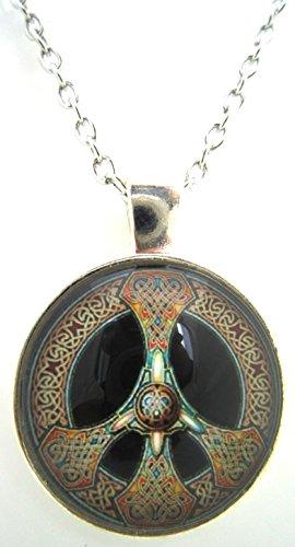Celtic Necklace Peace Symbol Jewelry (Peace Pendant Necklace)