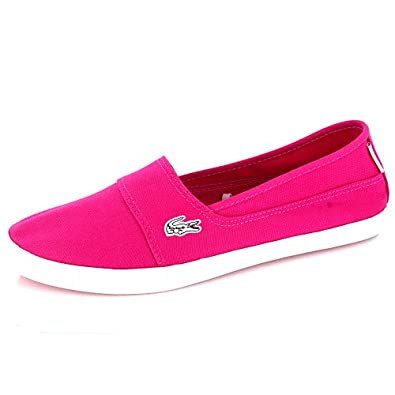 434a670353 Amazon.com   Lacoste Womens Marice Jaw SPW Dark Pink   Fashion Sneakers