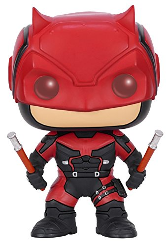 Funko Pop Marvel: Daredevil TV-Daredevil Red Suit Action Figure Funko Pop! Marvel: 7029 Accessory Toys & Games