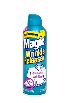 Finish Fabric (MAGIC Wrinkle Releaser (4 Pack) Say No to Ironing, Perfect for Travelers, Moms or Those On The Go, Static Electricity Remover + Fabric Refresher + Odor Eliminator + Wrinkle Remover, Fresh Scent)