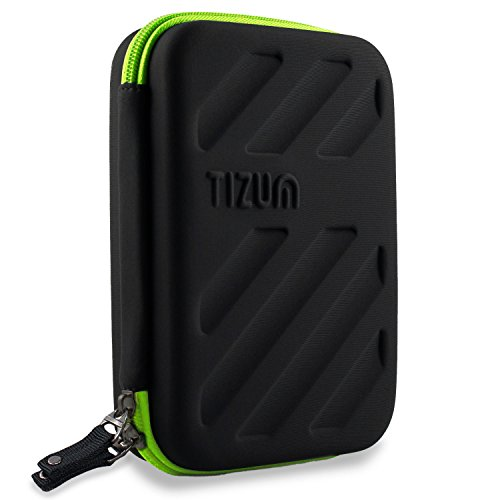 Tizum Global Electronic Travel/ Gadget Organiser for Small Gadgets & Accessories (Black)