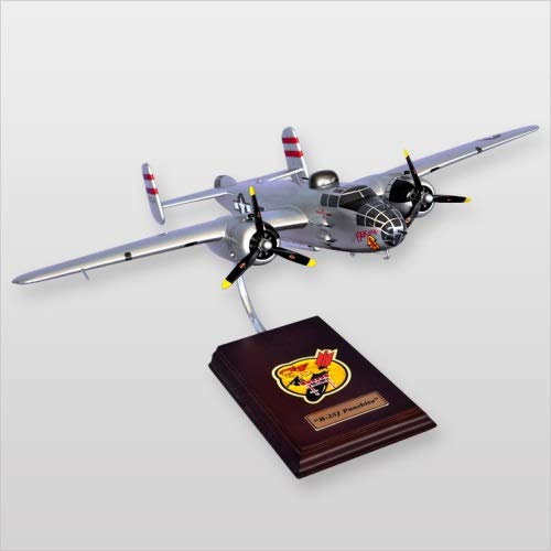 Mastercraft Collection North American B-25 Mitchell Panchito Bomber World War II Airplane Plane Model Scale:1/41