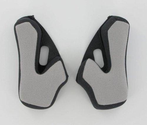 AFX Helmet Cheek Pads for FX-37 Dual Sport - Black - XS 0134-0835