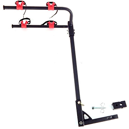 """2 Bicycle Bike Rack Hitch Mount Carrier Car Truck Bike Carrier 2"""" Receiver"""