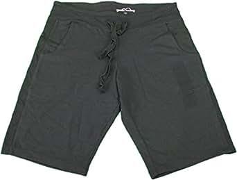 Eddie Bauer Women's Small Cotton Knit Bermuda Shorts Black